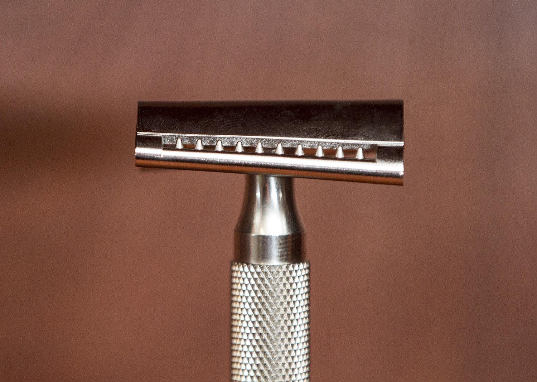 iKon Slant Stainless Steel Double Edge Razor