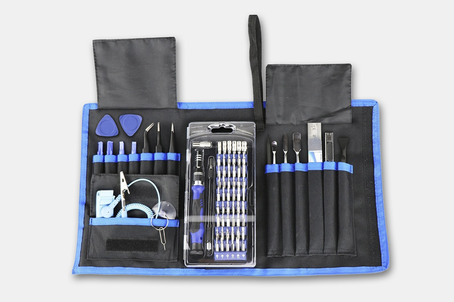 76-in-1 Magnetic Pro Repair Tool Set