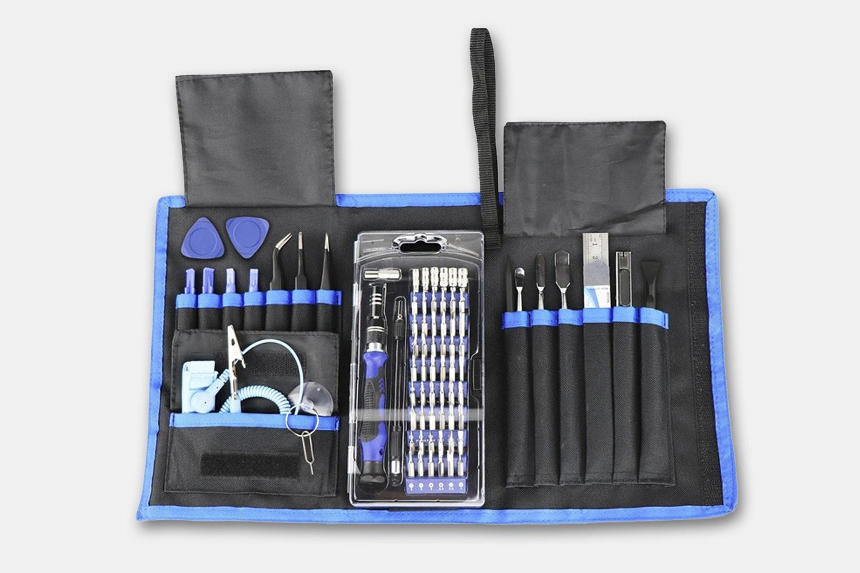 76-in-1 Magnetic Pro Repair Tool Set