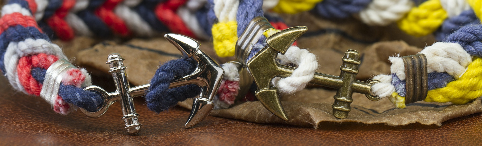 Knotical Knovelties Anchor Bracelet