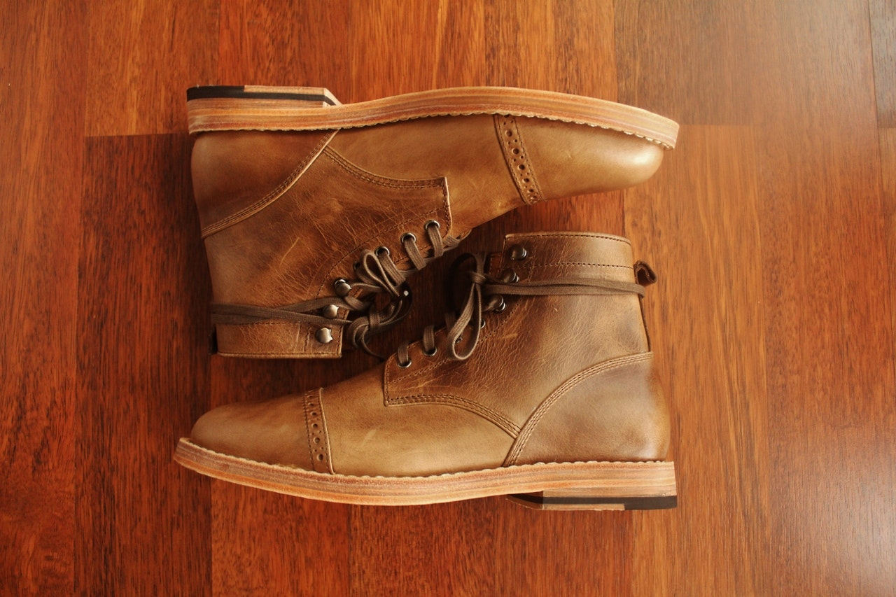 Chevalier Captoe Natural Chromexcel Boot