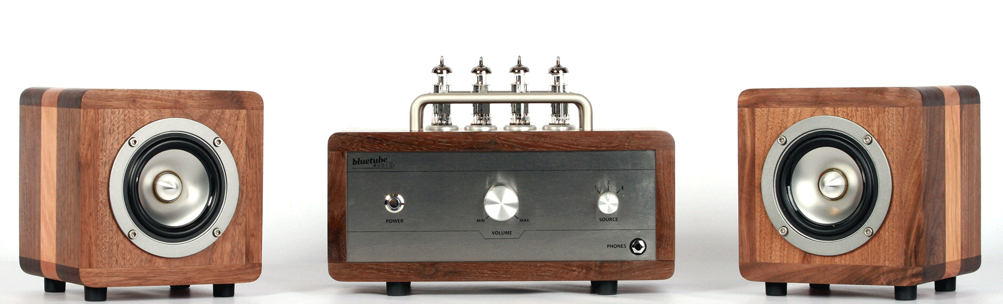 BT-4 BlueTube Amplifier + Speakers