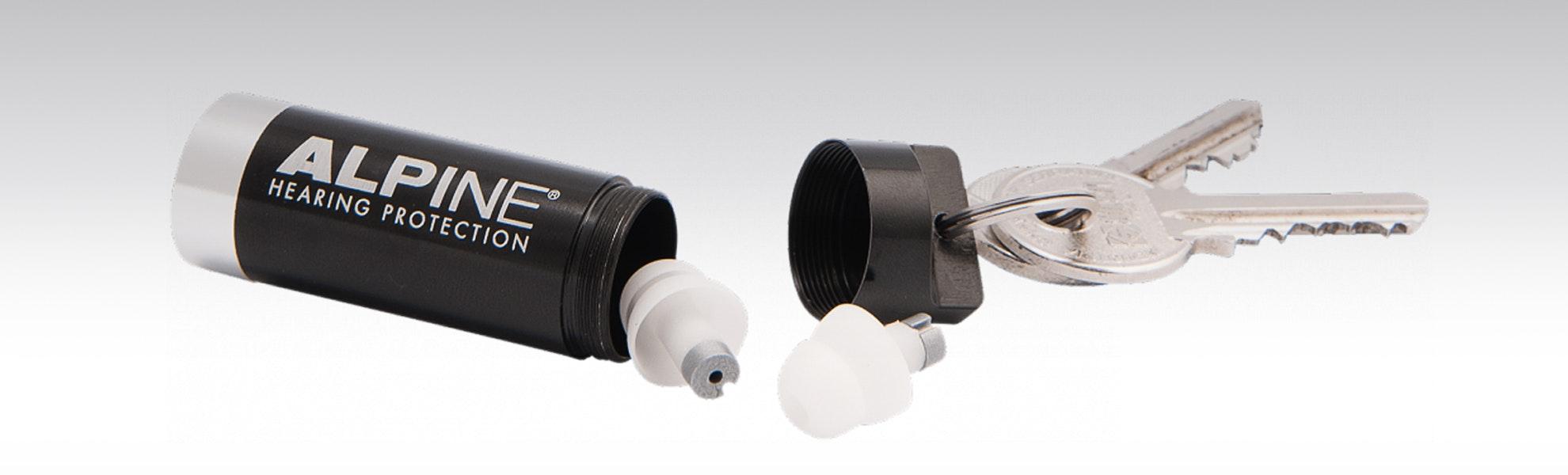 Alpine Hearing Protection MusicSafe Classic Earplugs