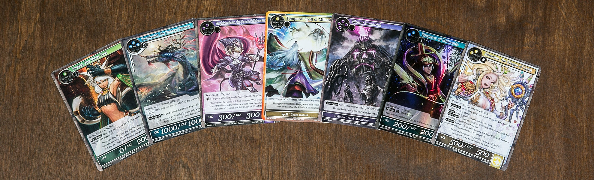 Force Of Will: Millennia of Ages Booster Box