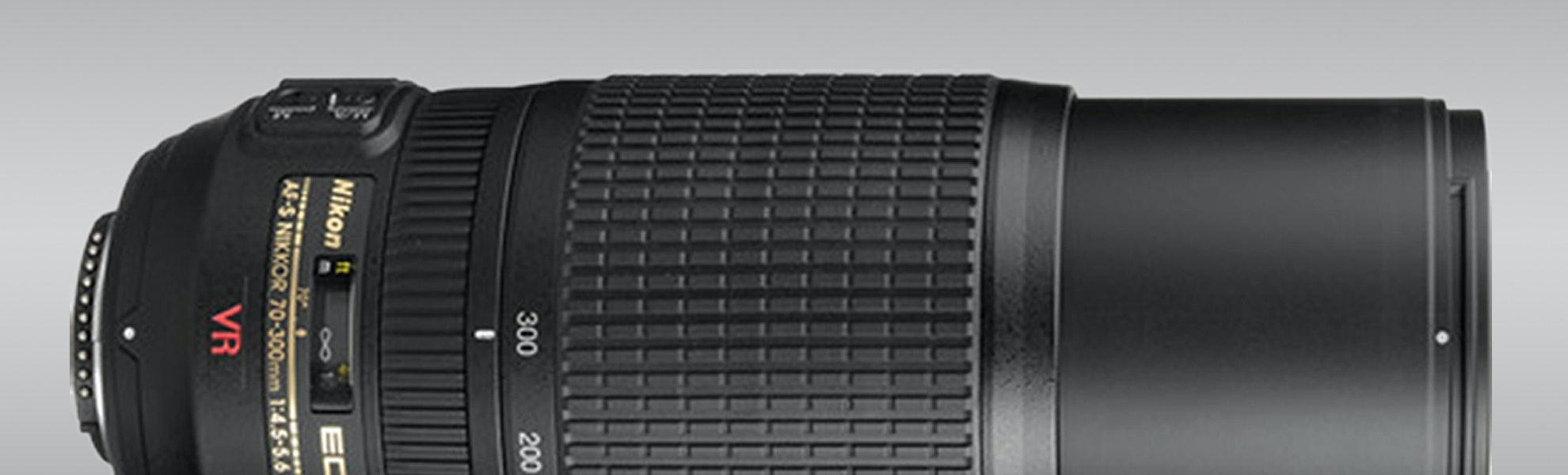 Nikon 70-300mm f/4.5-5.6G ED IF-ED AF-S VR Lens