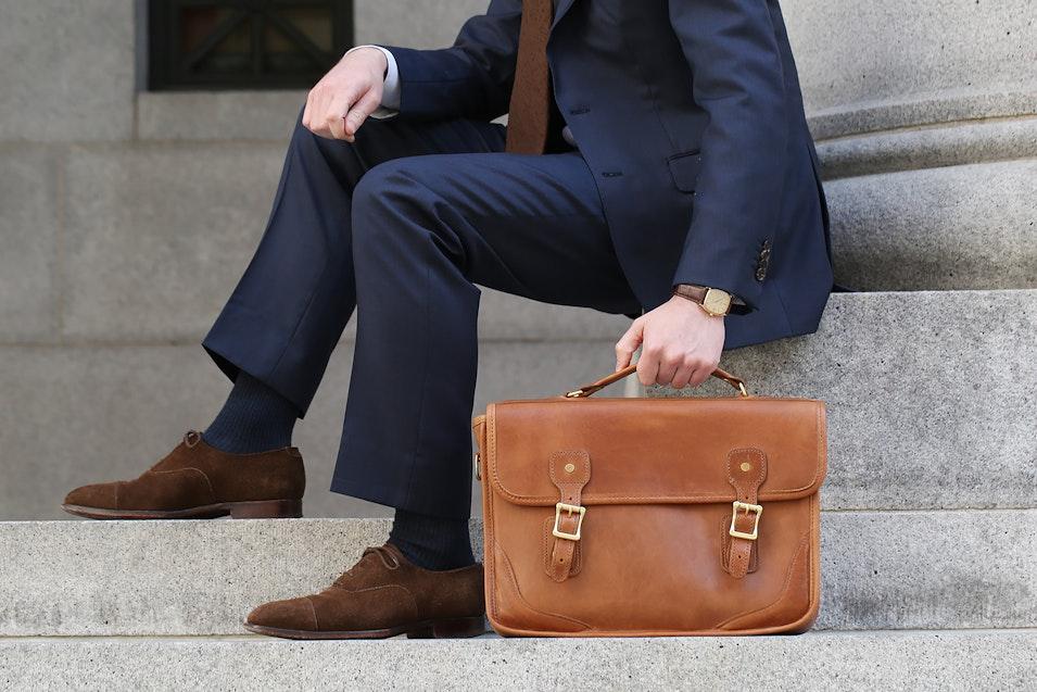 J W Hulme Co Brief Bag