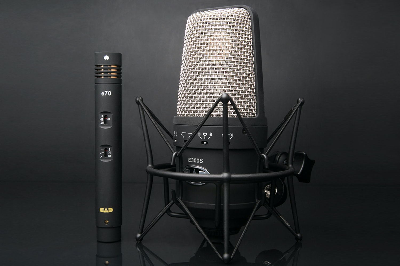 CAD e300s and e70 Microphone Bundle
