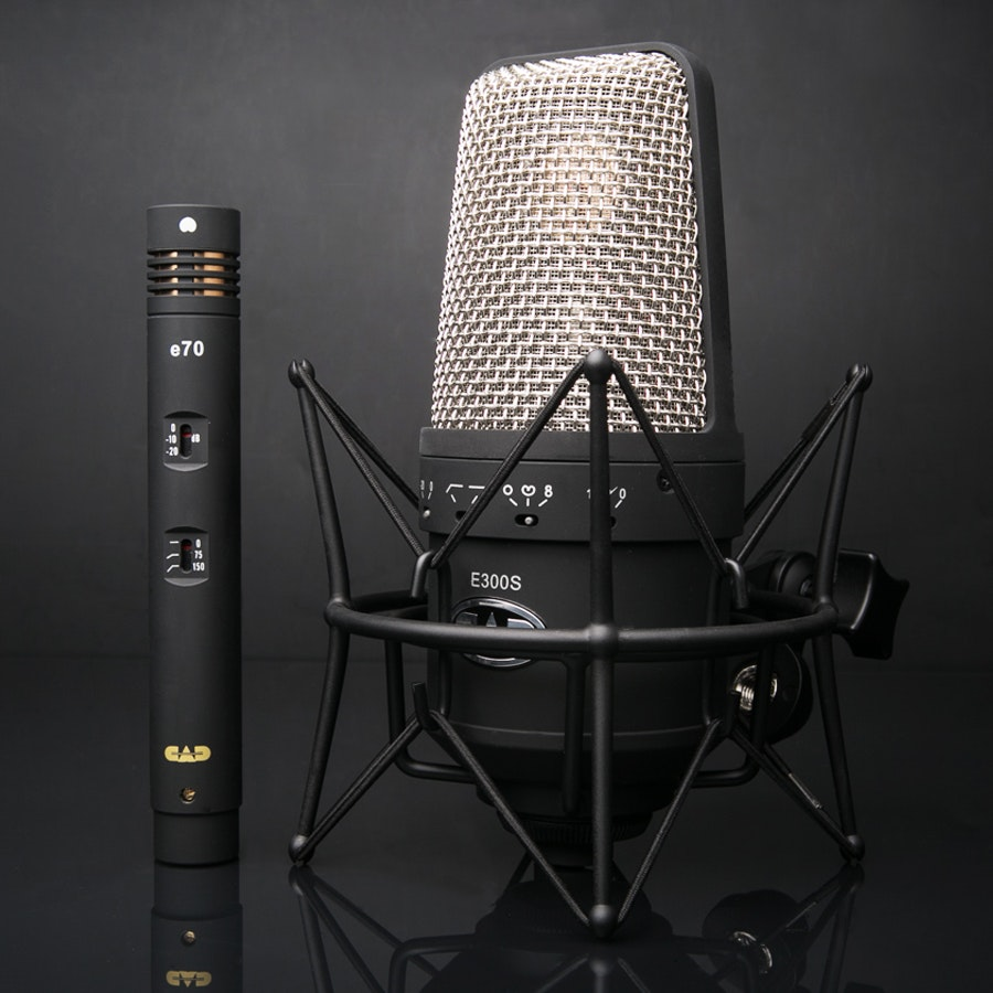 CAD e300s and e70 Microphone Bundle