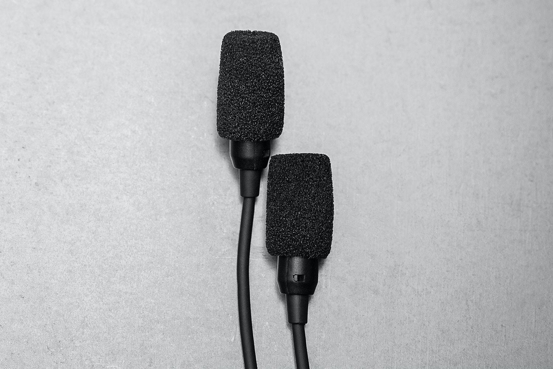 AE iOS Microphone Adapter + Binaural Microphones