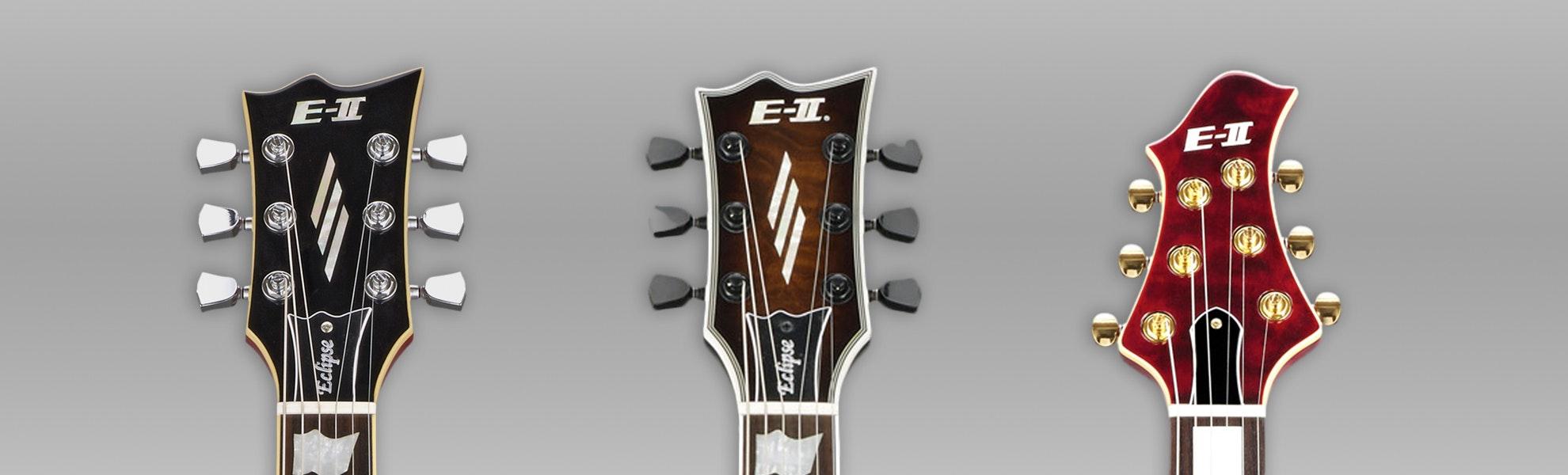 ESP E-II Electric Guitars, Built In Japan