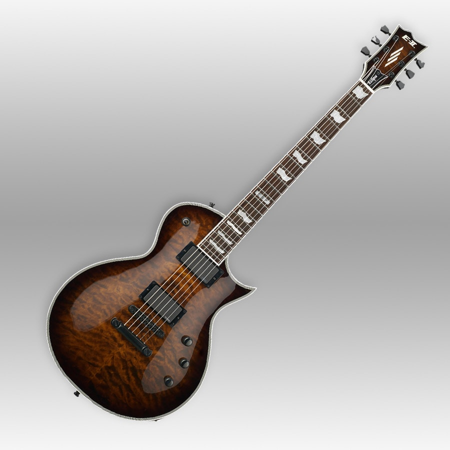 ESP E-II Electric Guitars, Built In Japan