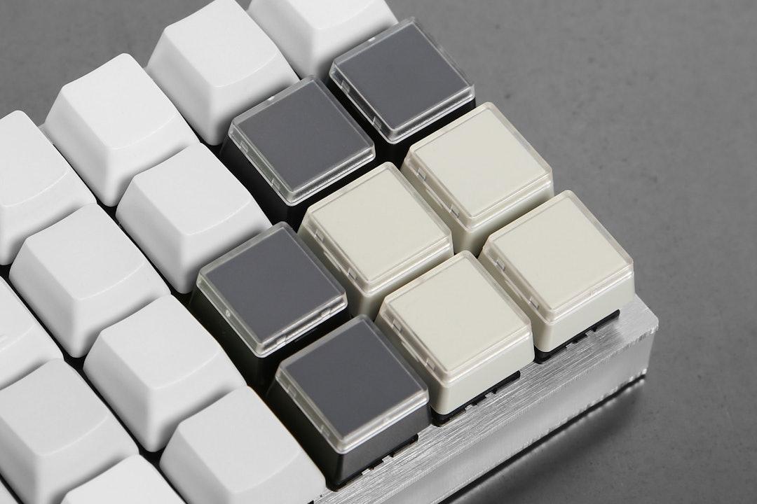 Re-legendable Keycaps (2-pack)
