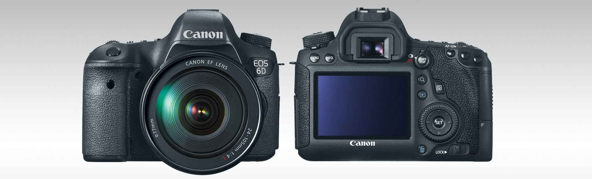 Canon 6D with 24-105mm f/4L Lens