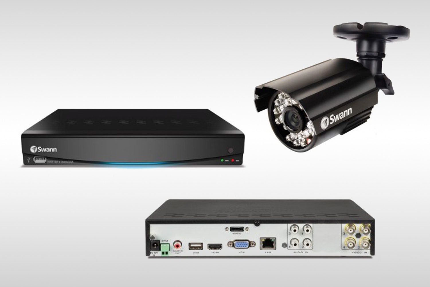 Swann 4-Channel DVR Surveillance System