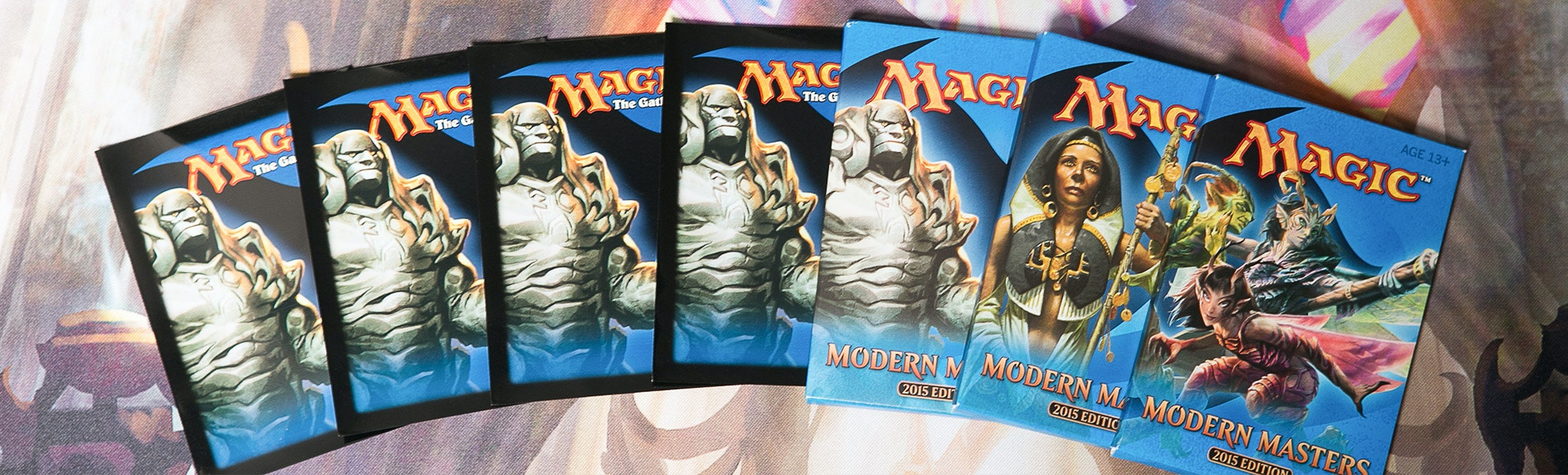 Modern Masters 2015 Booster Bundle + Sleeves