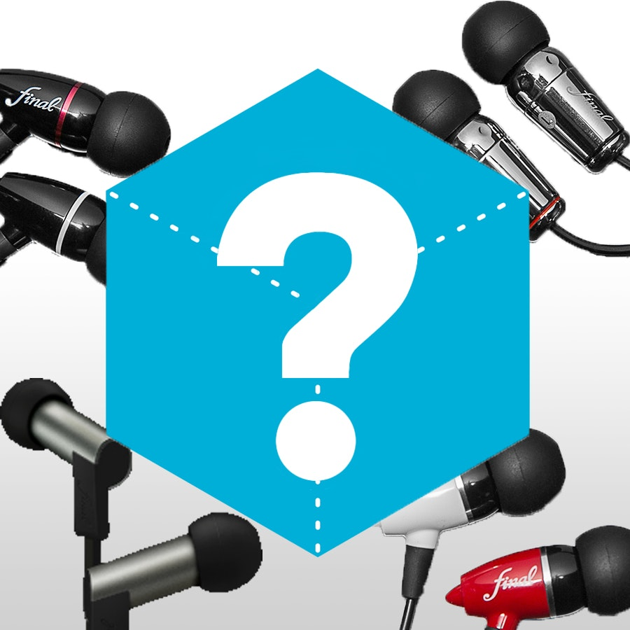 Massdrop Blue Box - Final Audio Design Grab Bag
