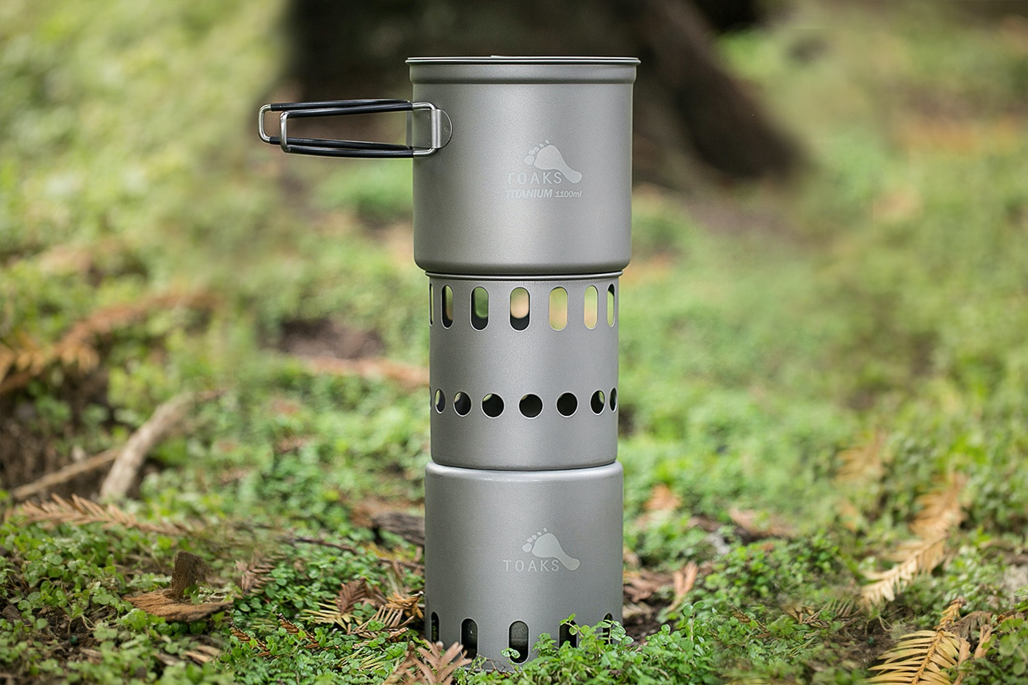 Toaks Wood Burning Stove with Optional Pot
