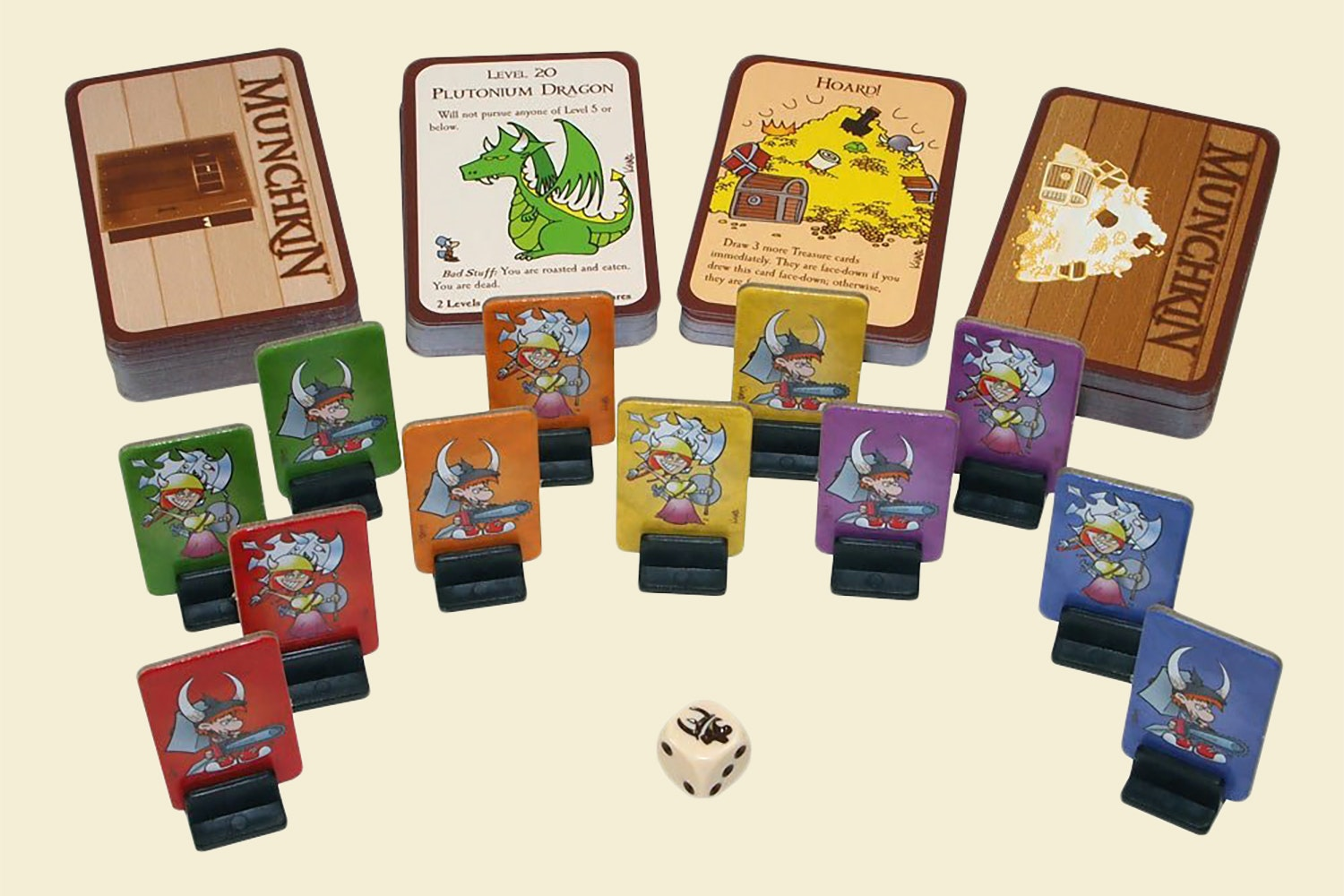 Munchkin Deluxe Bundle + Expansions 2-8