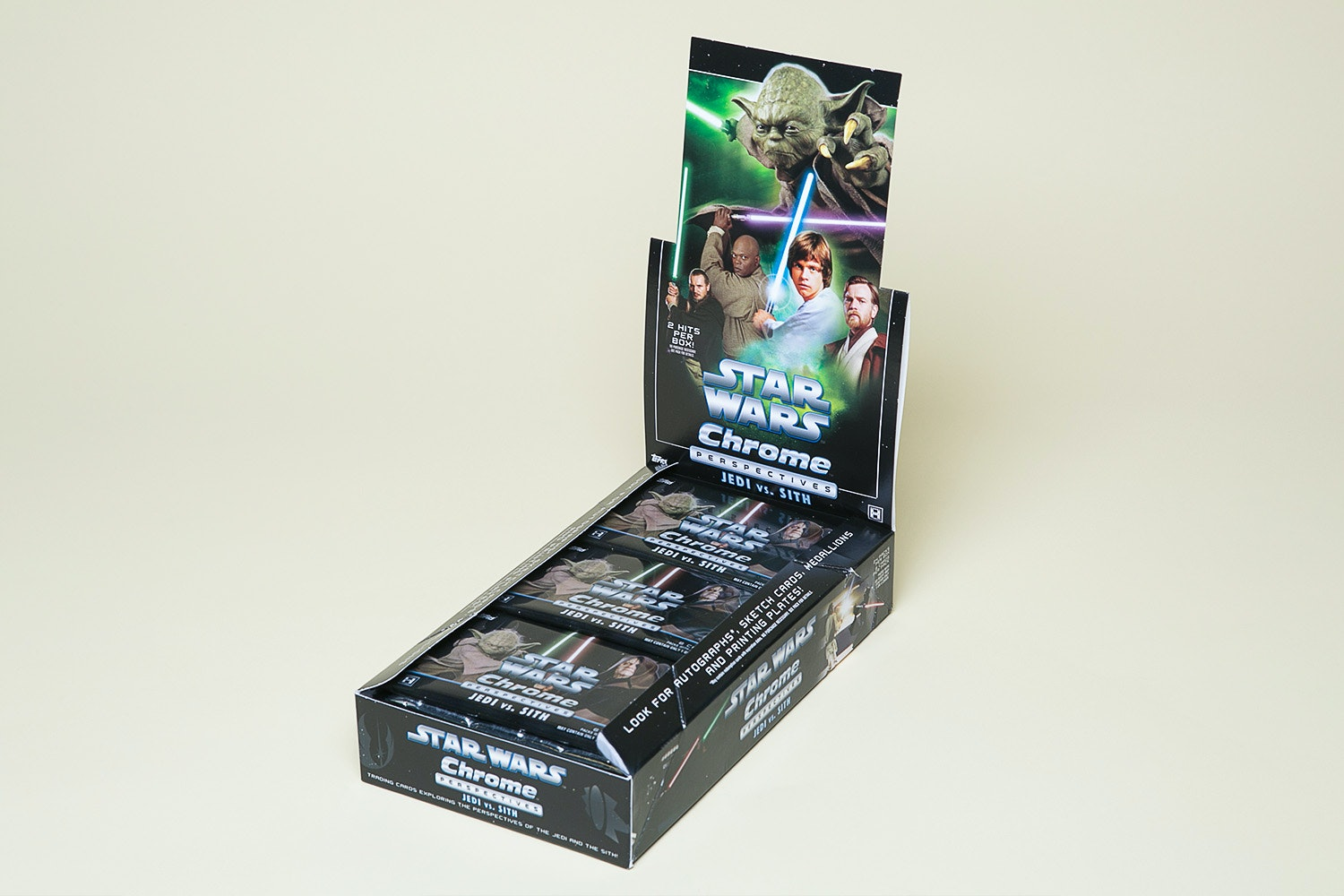 Star Wars Chrome: Jedi vs Sith Hobby Box