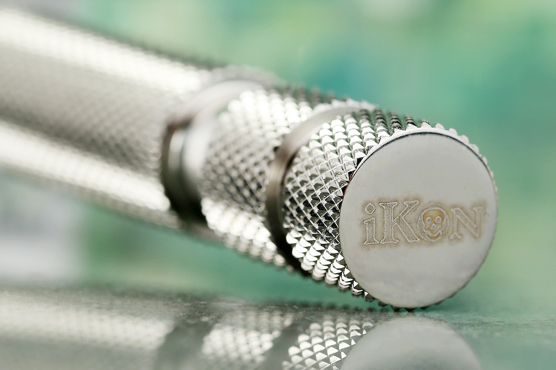 iKon ShaveCraft Open Comb on OSS handle