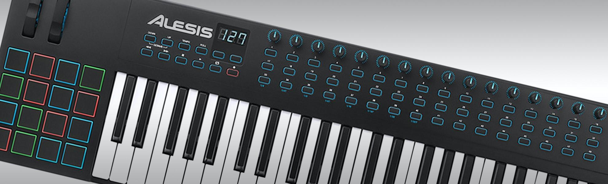 Alesis VI61 61-Key USB/MIDI Keyboard Controller
