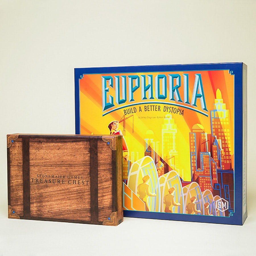 Euphoria: Build a better Dystopia + Treasure Chest