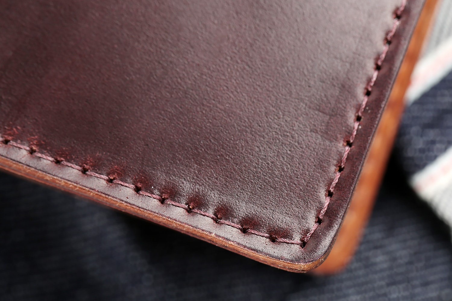 Ashland Leather Bugs Moran Shell Cordovan Wallet