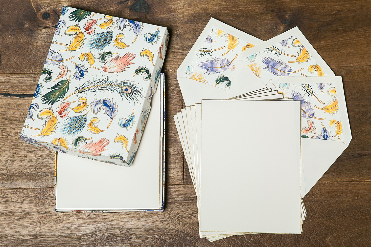 Rossi Foil-Stamped Italian Stationery Bundle