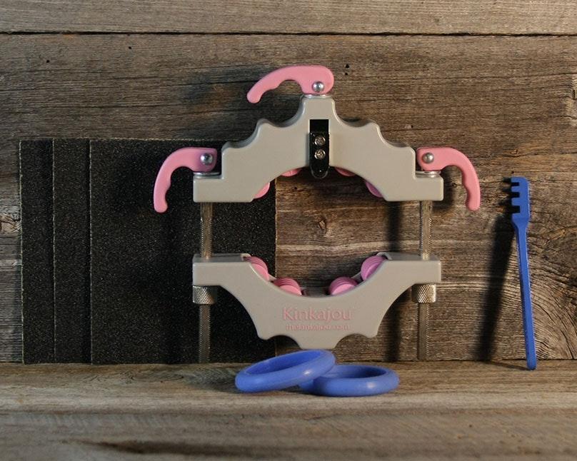 Kinkajou Bottle Cutter Standard Kit Katey (Grey/Pink)