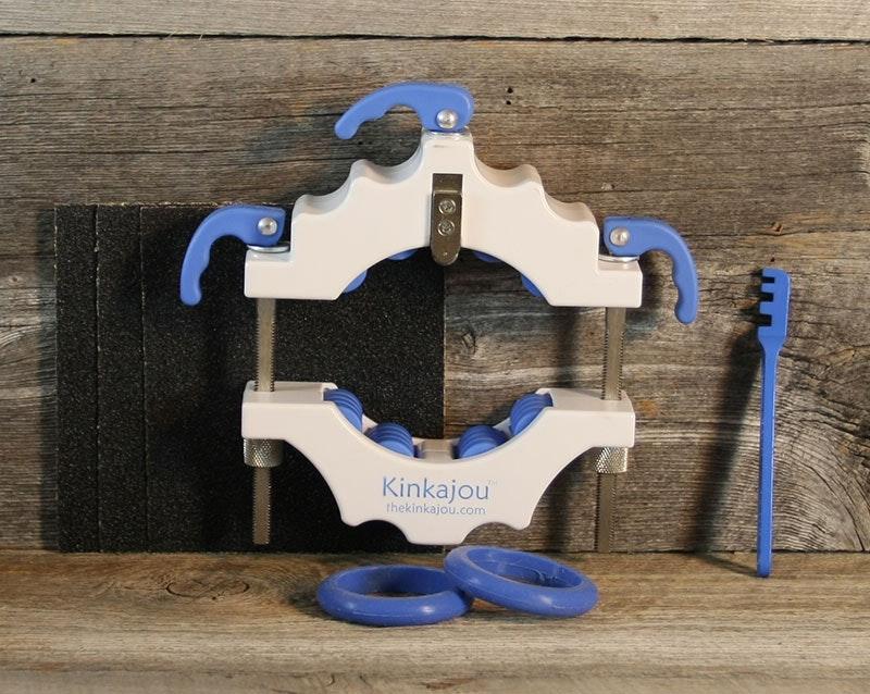 Kinkajou Bottle Cutter Standard Kit Bright White (White/Blue)