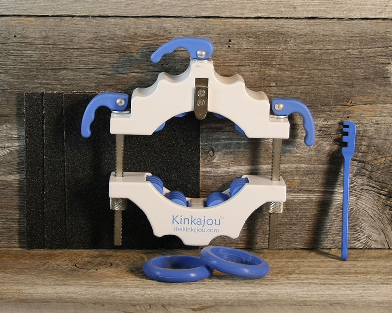 Kinkajou Bottle Cutter Standard Kit Bright White (White/Blue)