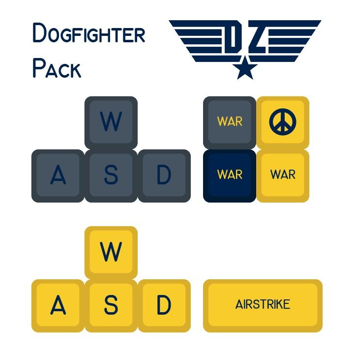 Danger Zone SA Keycap Set