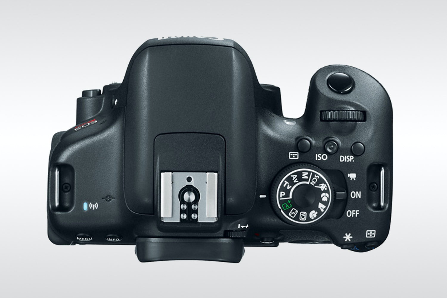 Canon EOS Rebel T6i with EF-S 18-55mm IS STM Lens