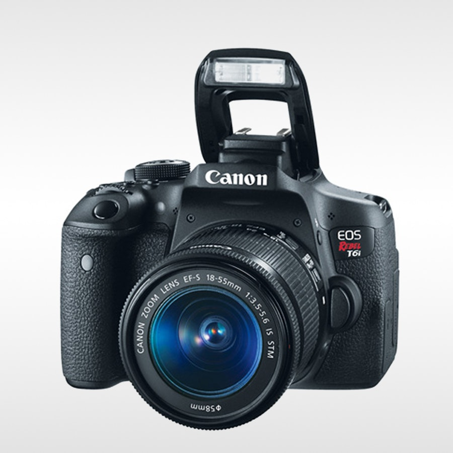 Canon EOS 750D ( T6i ) DSLR EF-S 18-55mm Kit