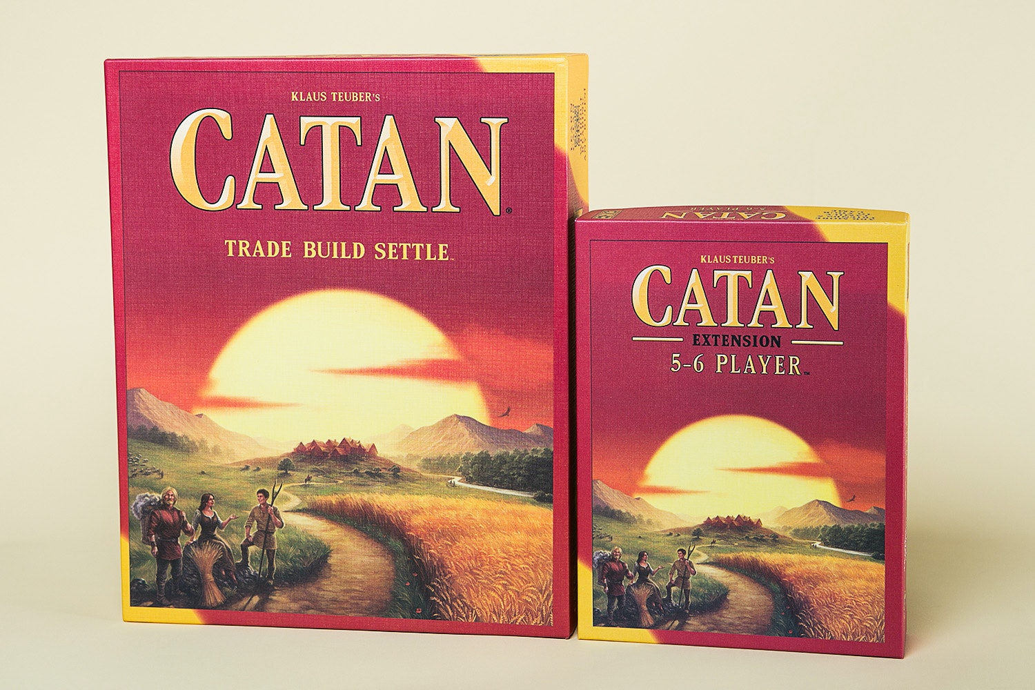 Catan 5th Edition + 5-6 Player Extension