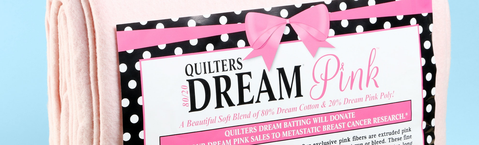 Quilters Dream Pink Batting