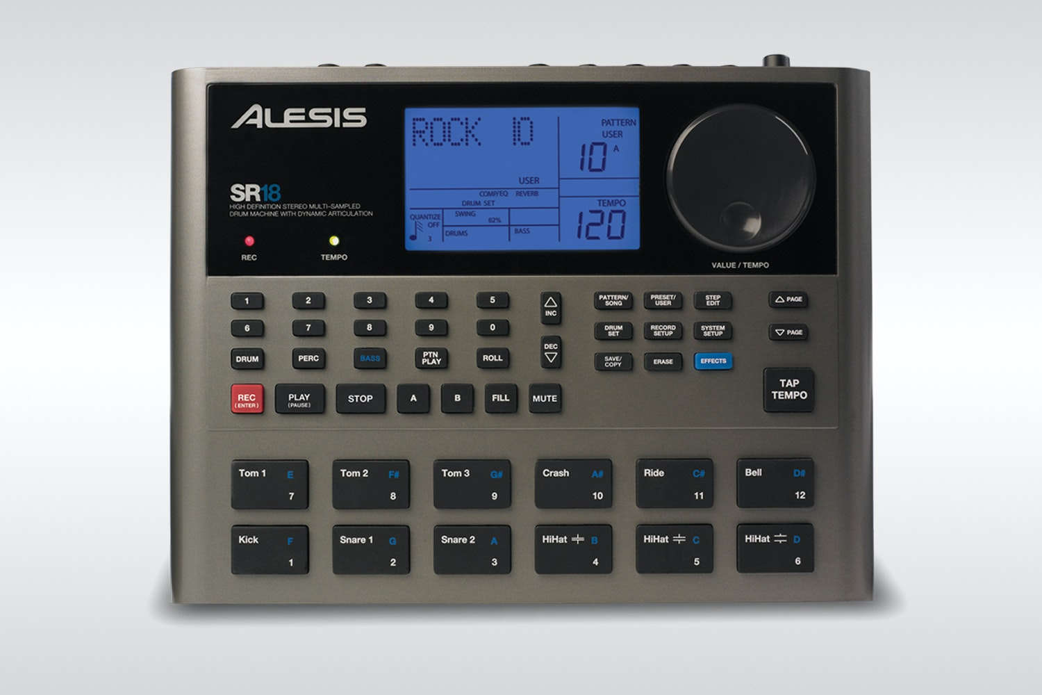 Alesis SR16/SR18 Drum Machines