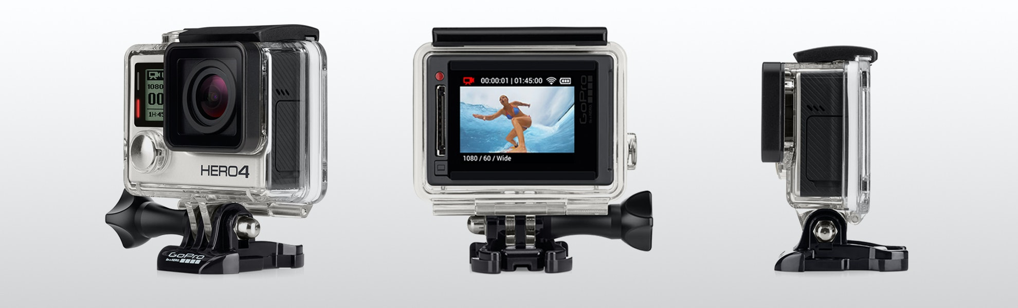 GoPro Hero 4 Silver Action Camera