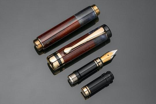 Lanier Classic Cocobolo Inlay Fountain Pen