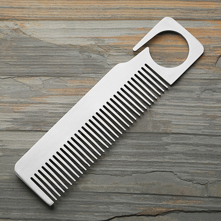 Bastion Gentleman Stainless Steel Comb