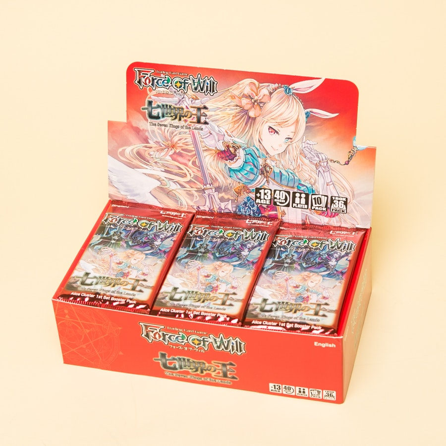 FoW: Seven Kings of The Lands Booster Box