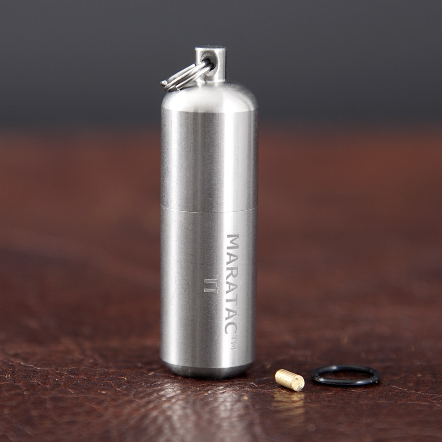Maratac Large Titanium Peanut Lighter