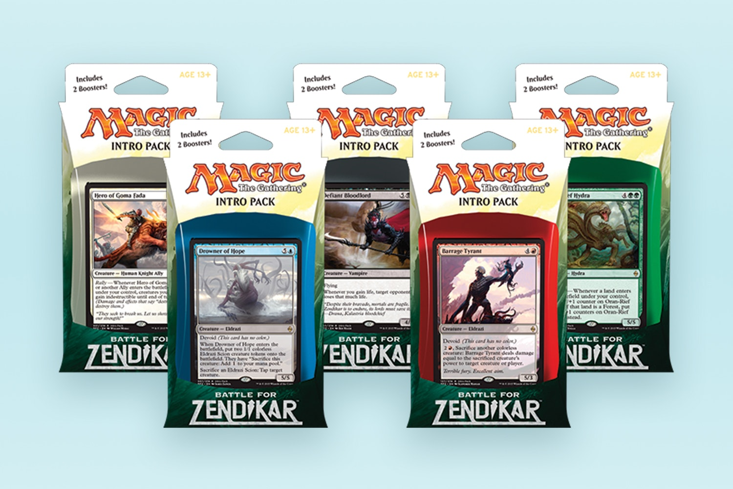 BfZ: Intro Deck 5-Pack (Presale)