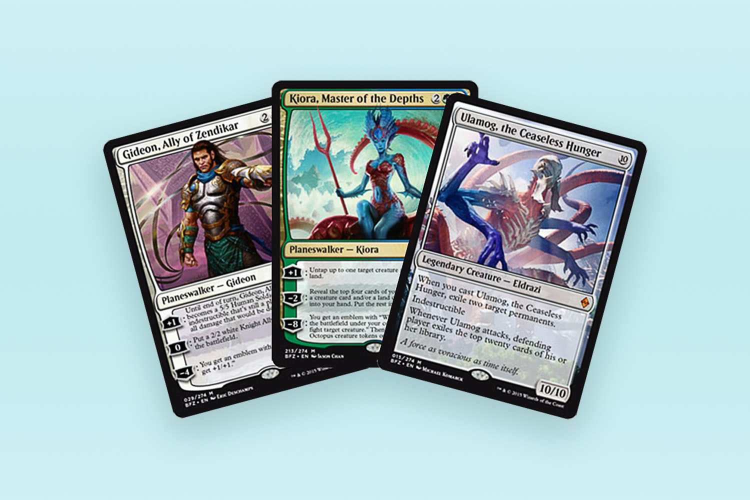 Battle for Zendikar Full Set