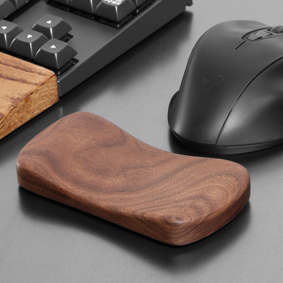 Royal Glam Keyboard and Mouse Wood Rest