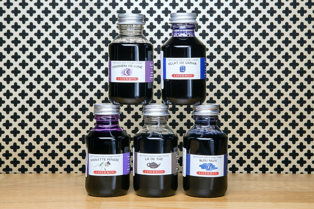 J. Herbin Ink 100 ml Bottle (2-Pack)