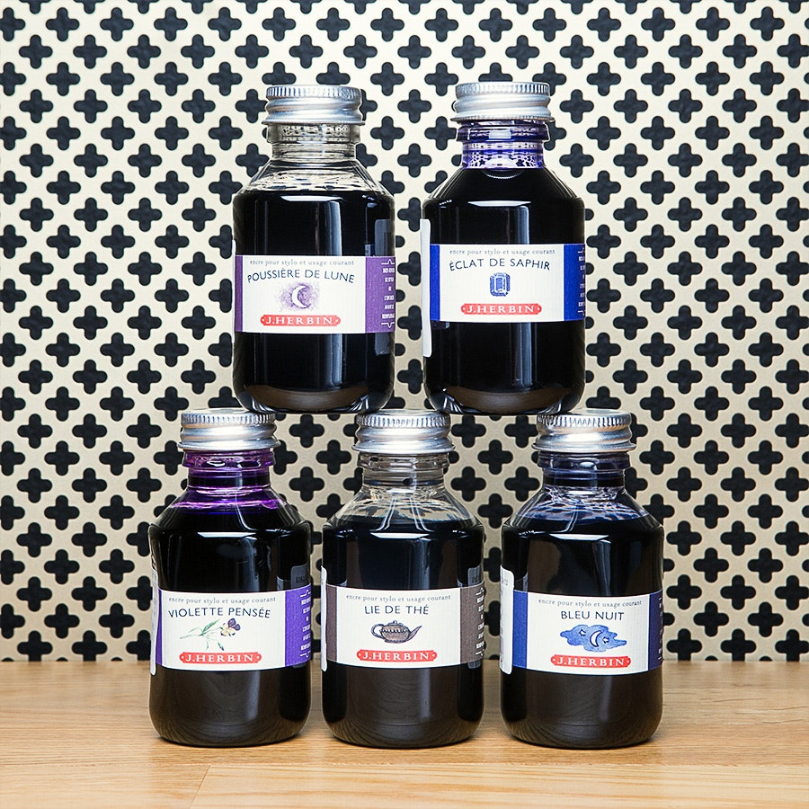 J. Herbin Ink 100 ml Bottle (2-Pack)