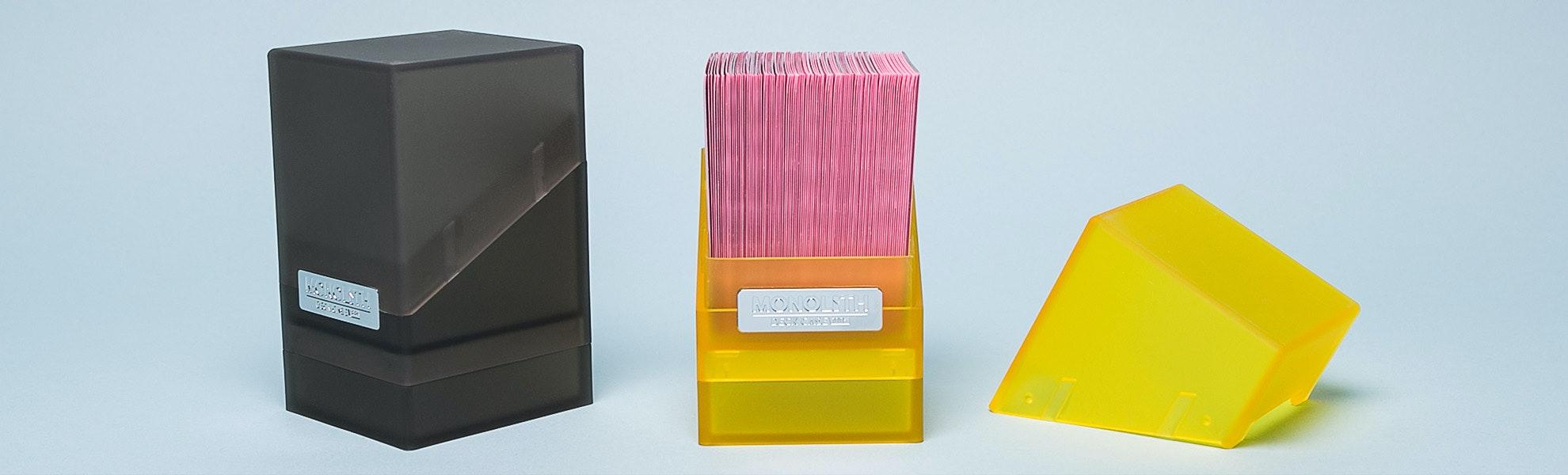 Monolith 100+ Jewel Deck Case (2-Pack)
