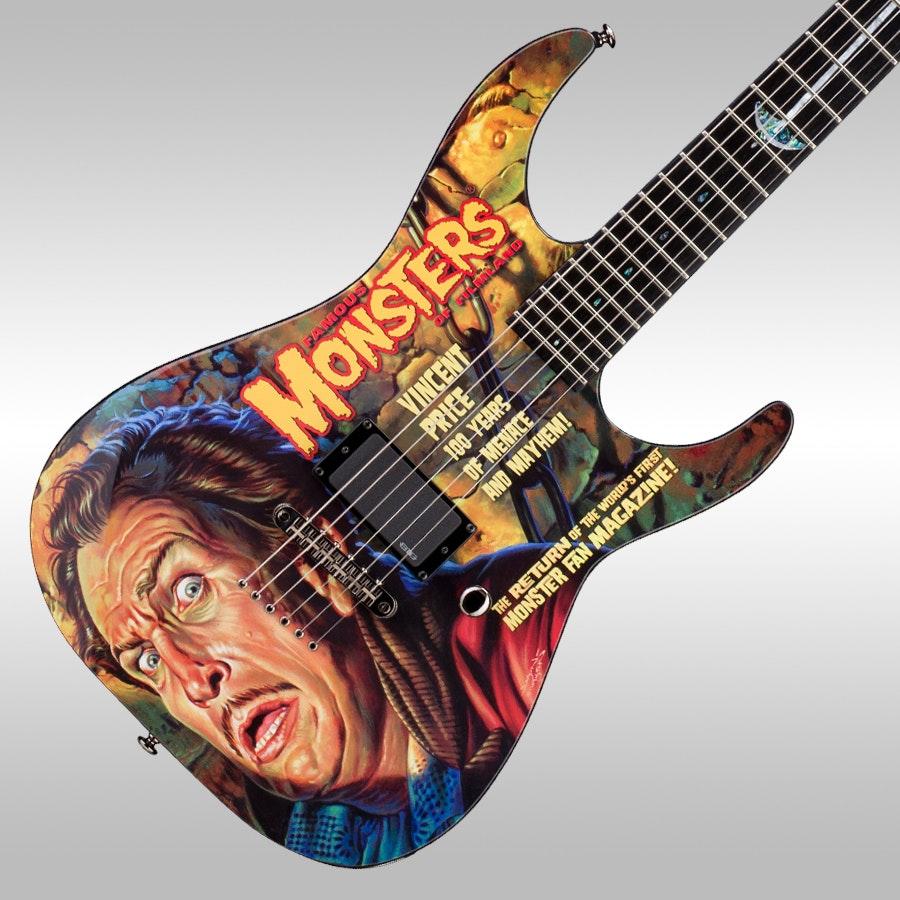 ESP Vincent Price Ltd Edition Guitar