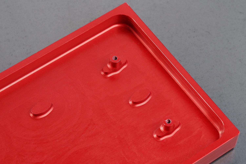Anodized Aluminum Planck Case